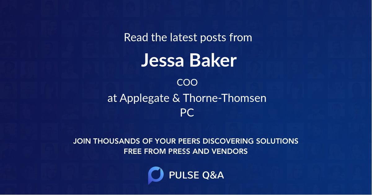 Jessa Baker