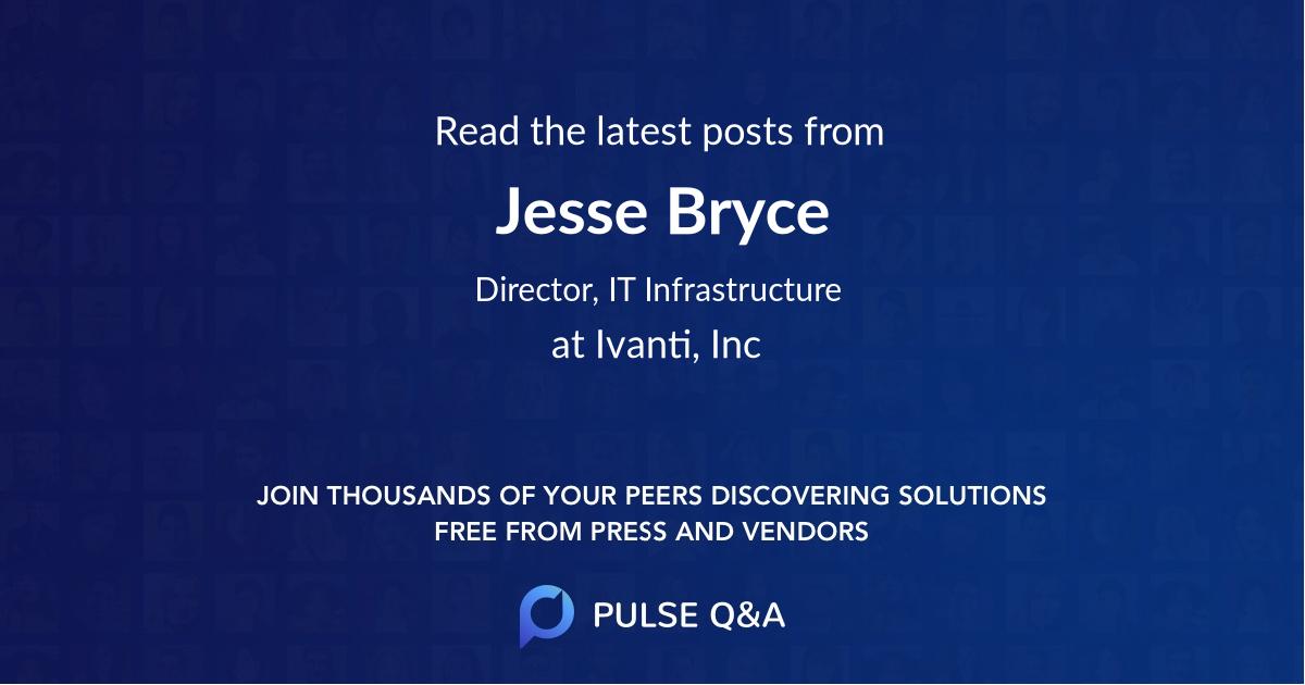 Jesse Bryce