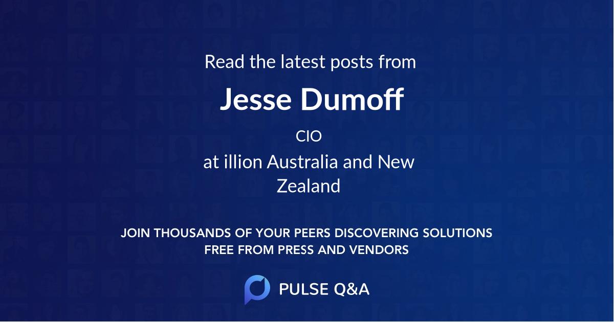 Jesse Dumoff
