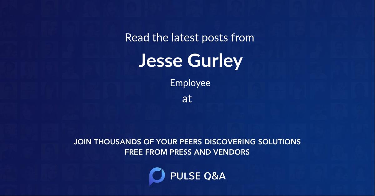 Jesse Gurley