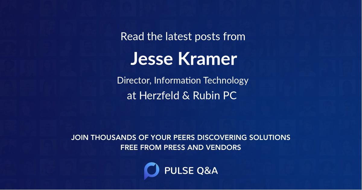 Jesse Kramer
