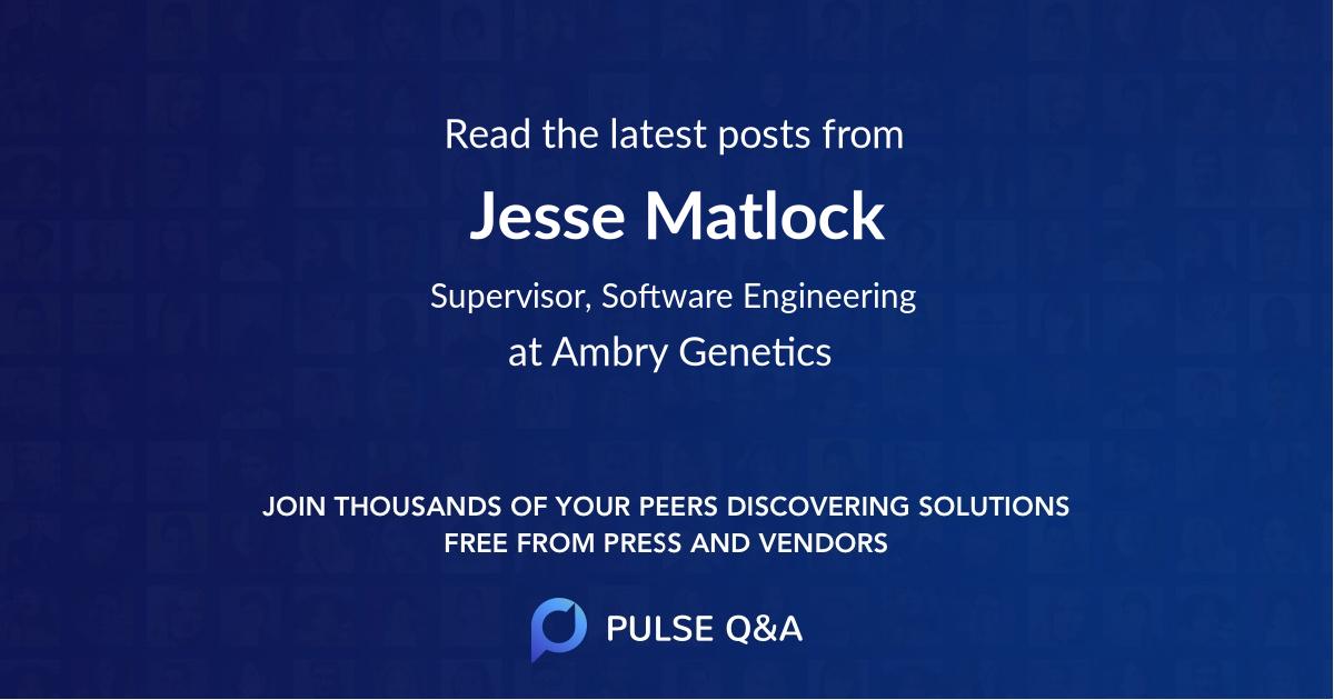 Jesse Matlock