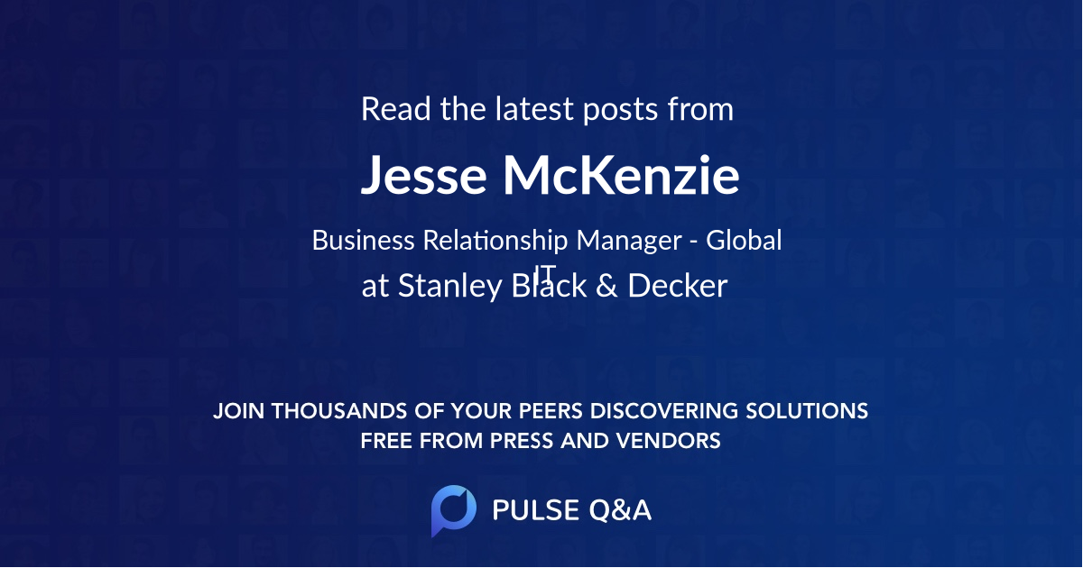 Jesse McKenzie