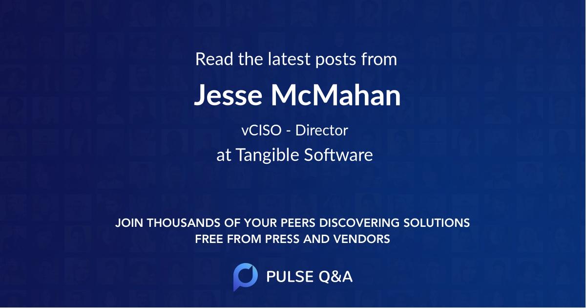 Jesse McMahan