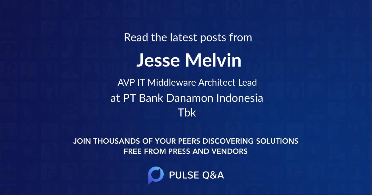 Jesse Melvin