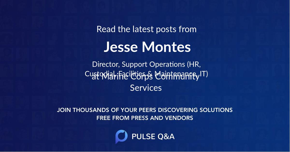 Jesse Montes