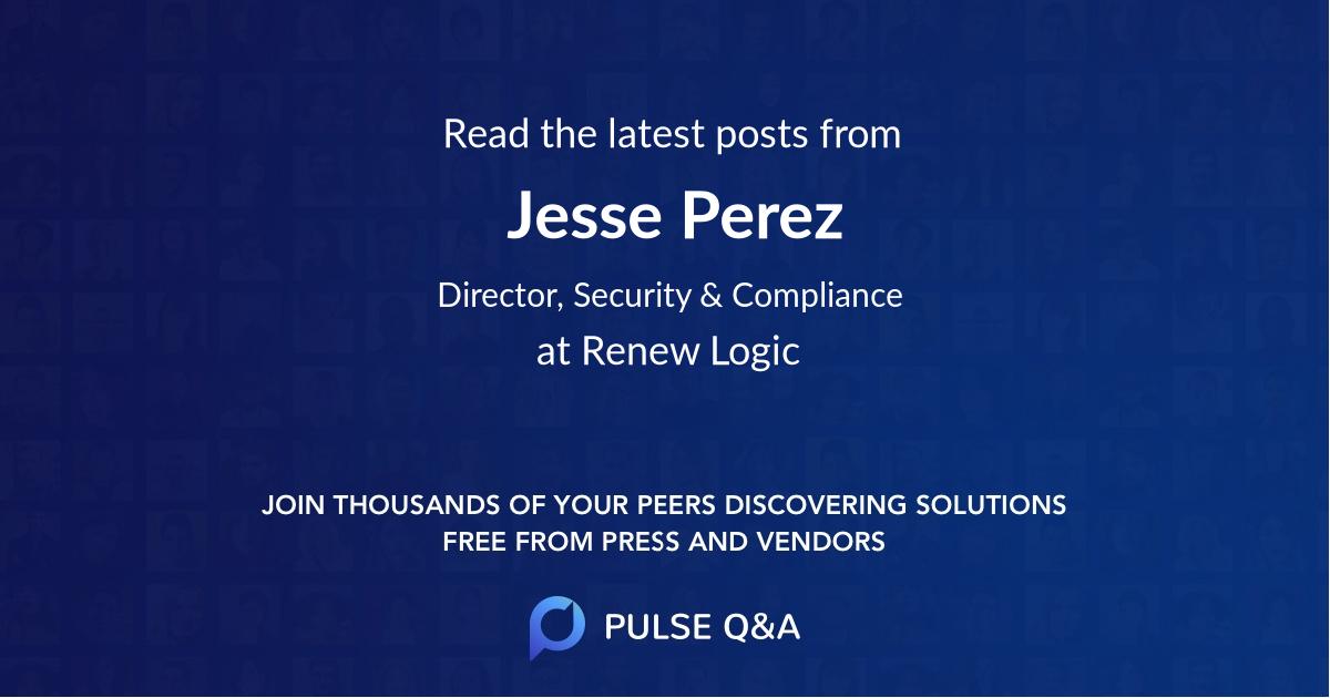 Jesse Perez