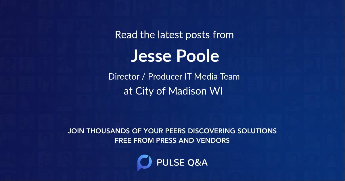 Jesse Poole