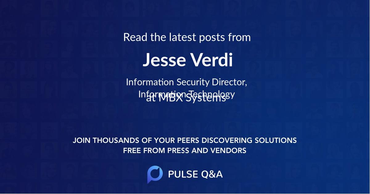 Jesse Verdi