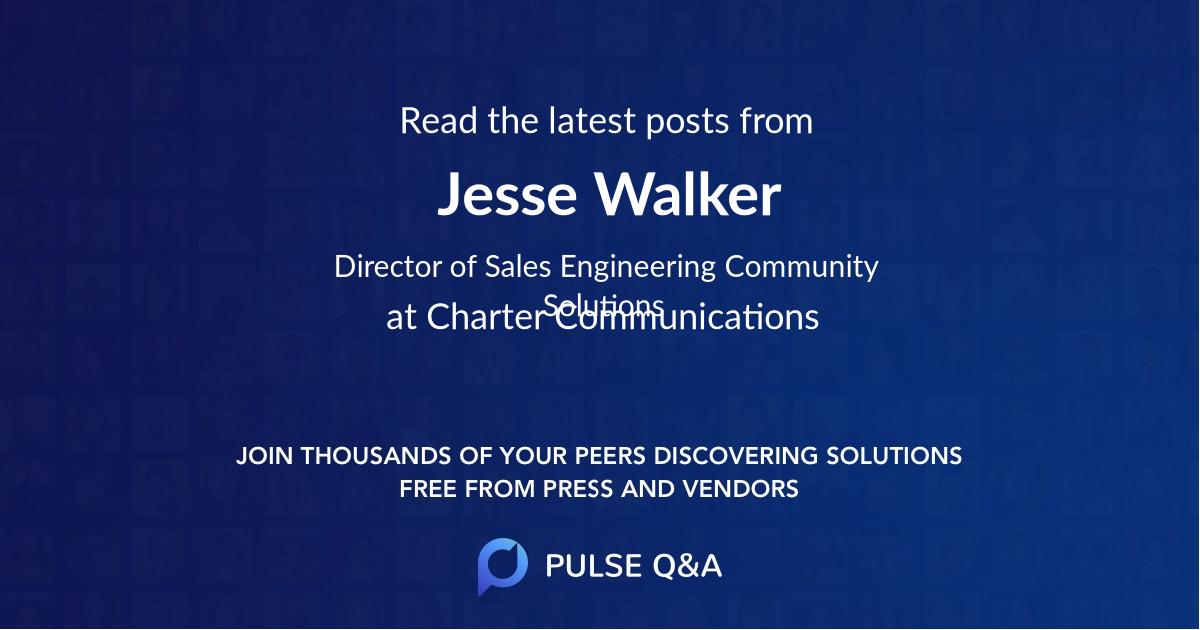 Jesse Walker