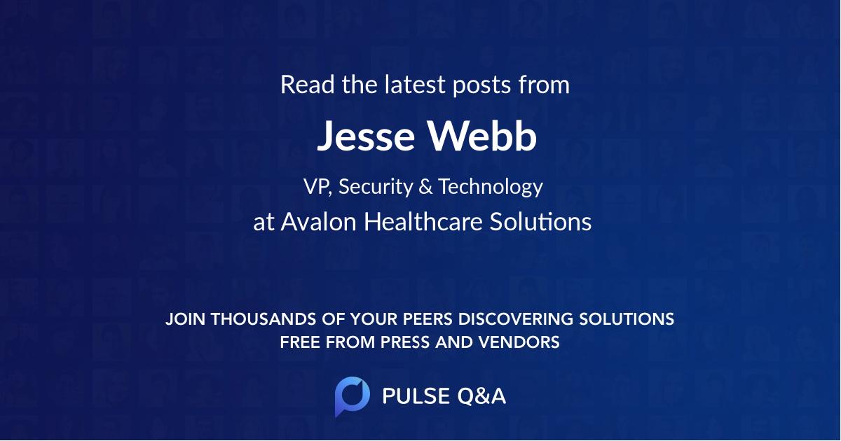 Jesse Webb