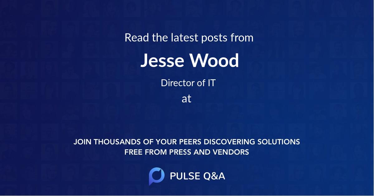 Jesse Wood