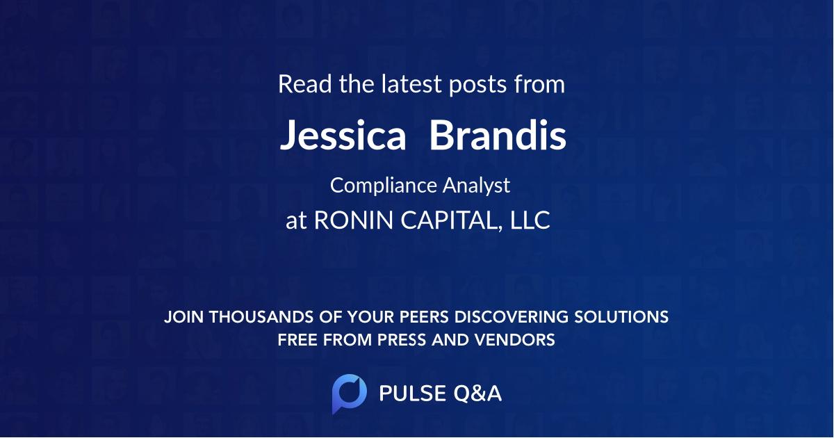 Jessica  Brandis
