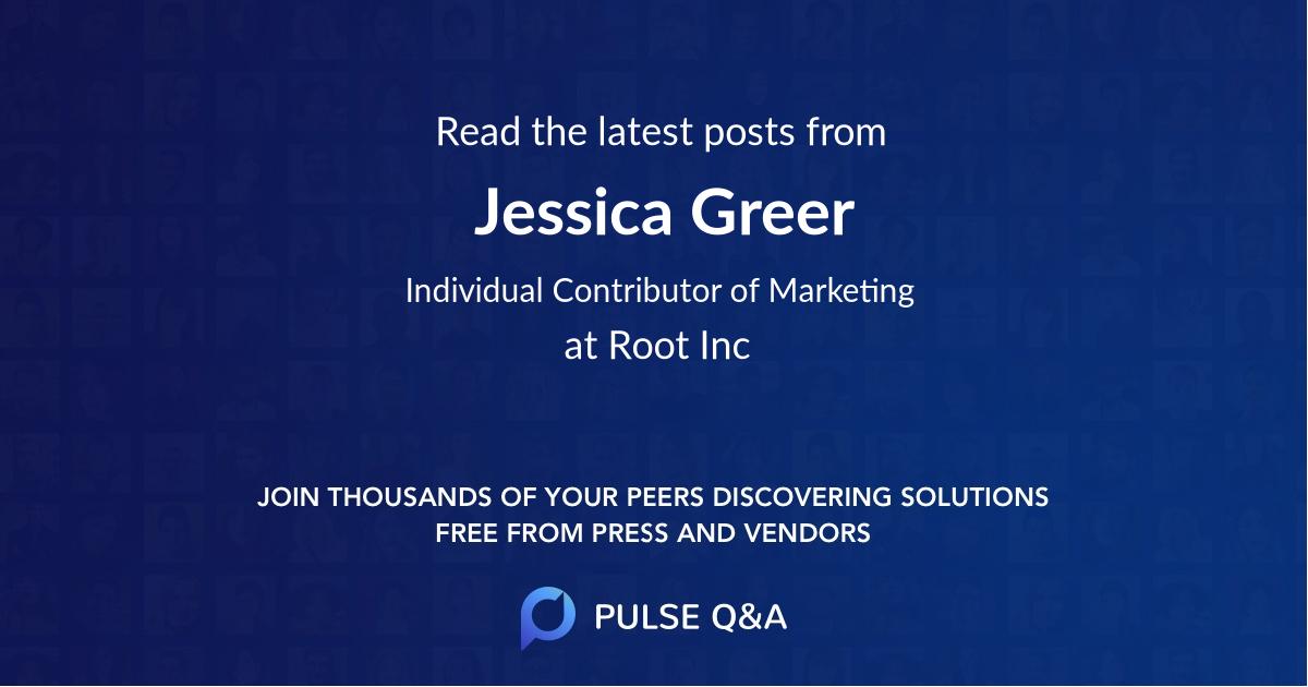 Jessica Greer