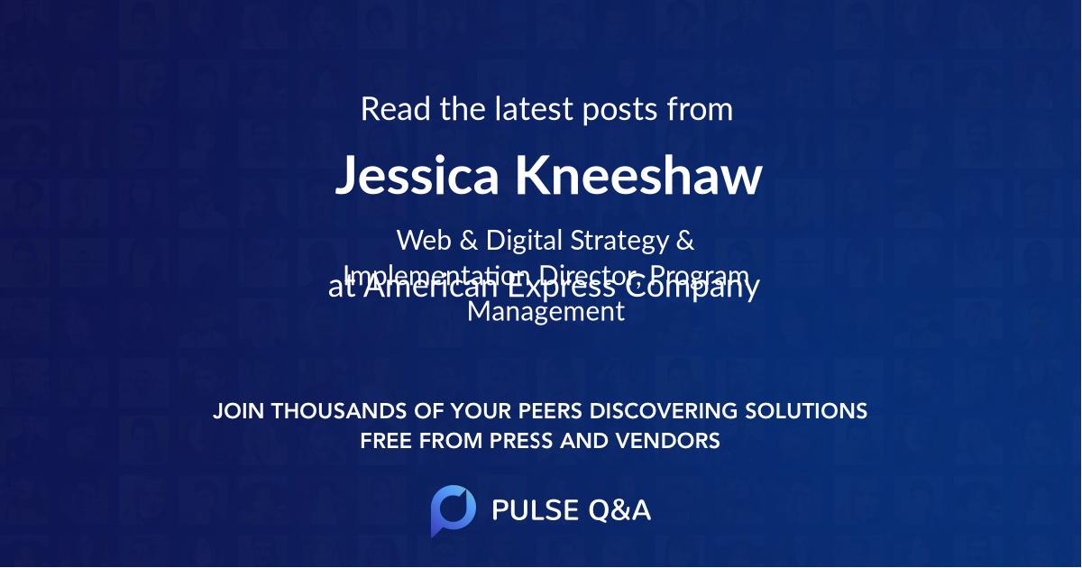 Jessica Kneeshaw
