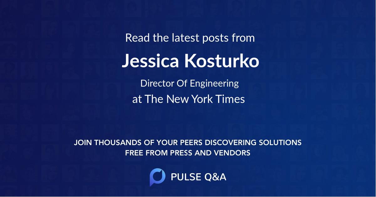 Jessica Kosturko