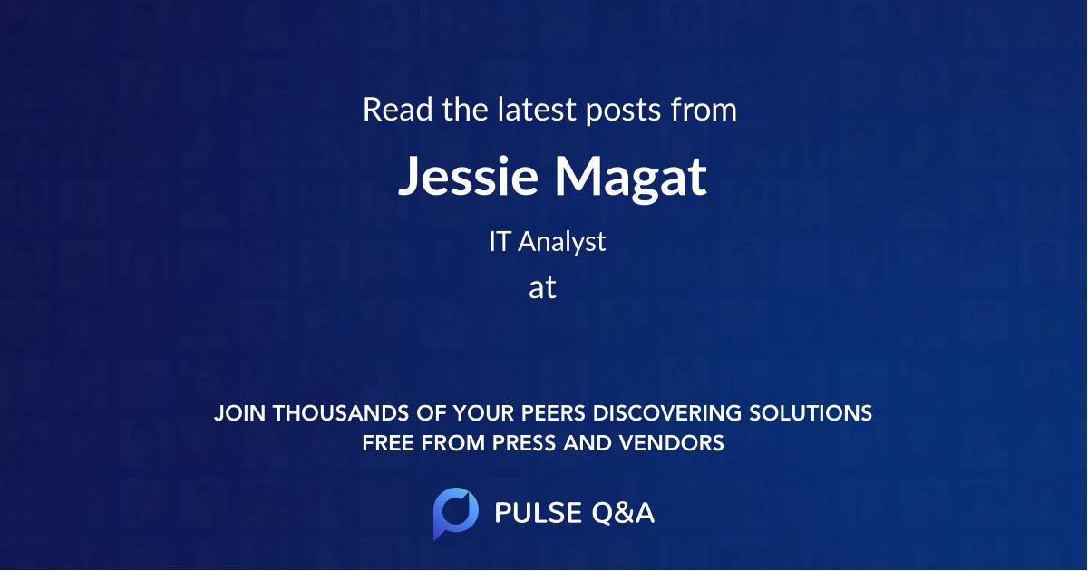 Jessie Magat
