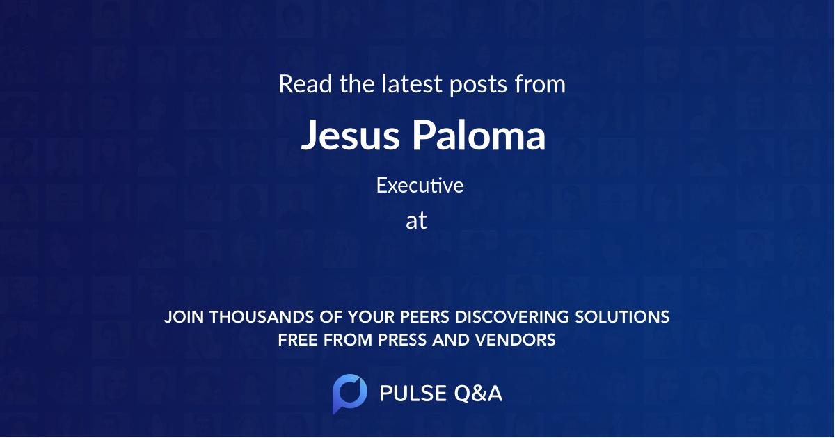 Jesus Paloma