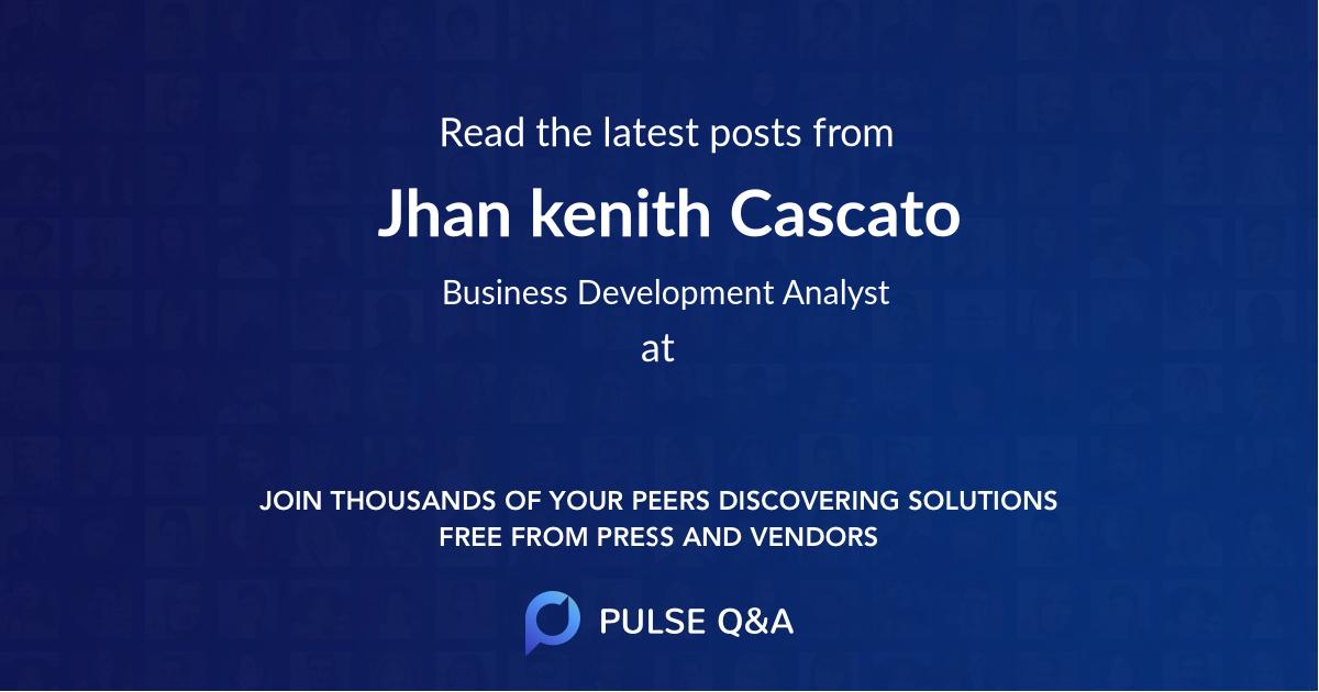 Jhan kenith Cascato