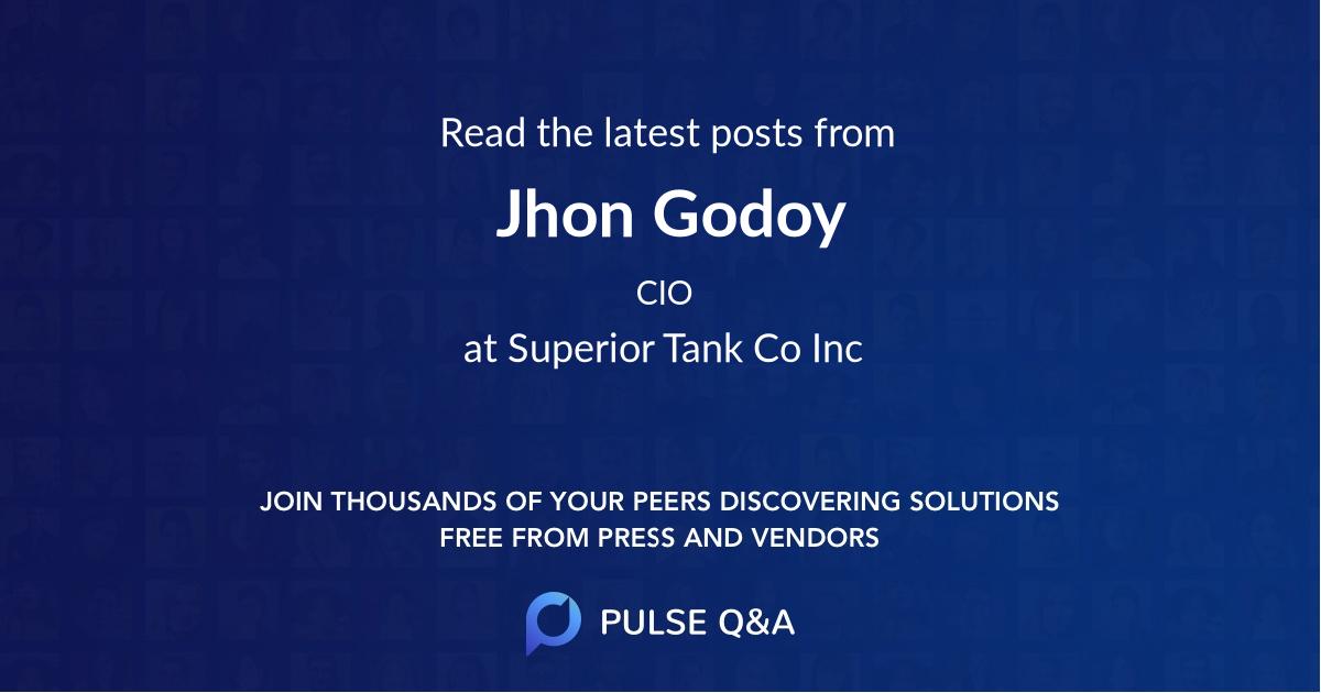 Jhon Godoy