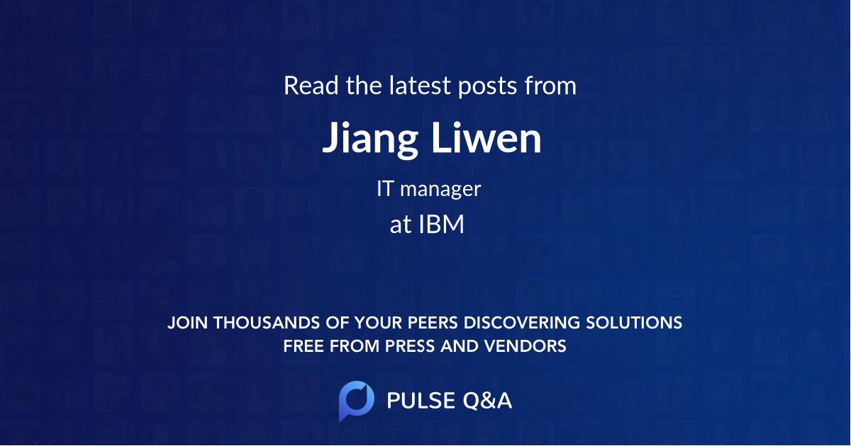 Jiang Liwen