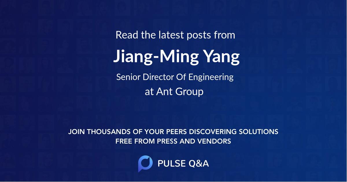 Jiang-Ming Yang