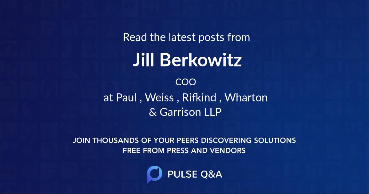Jill Berkowitz