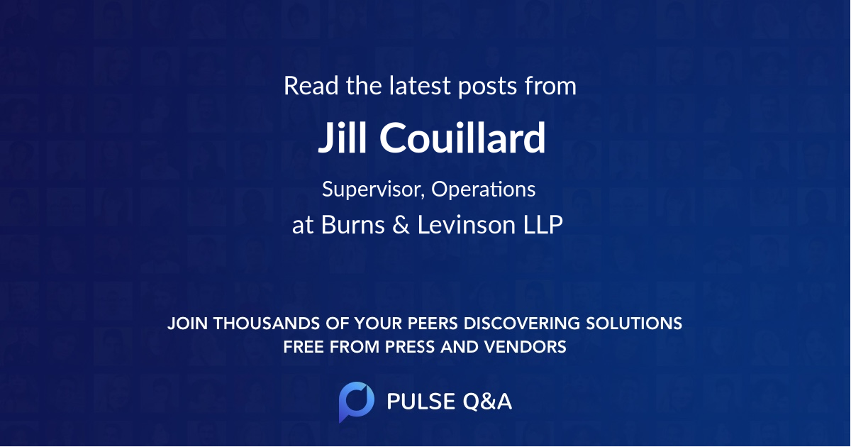Jill Couillard