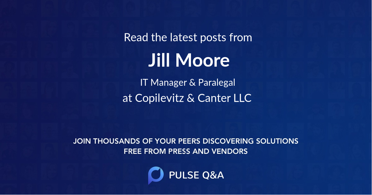 Jill Moore