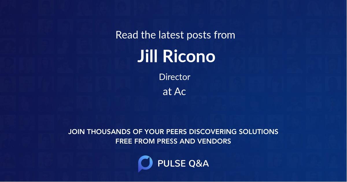 Jill Ricono