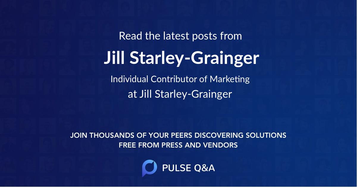 Jill Starley-Grainger