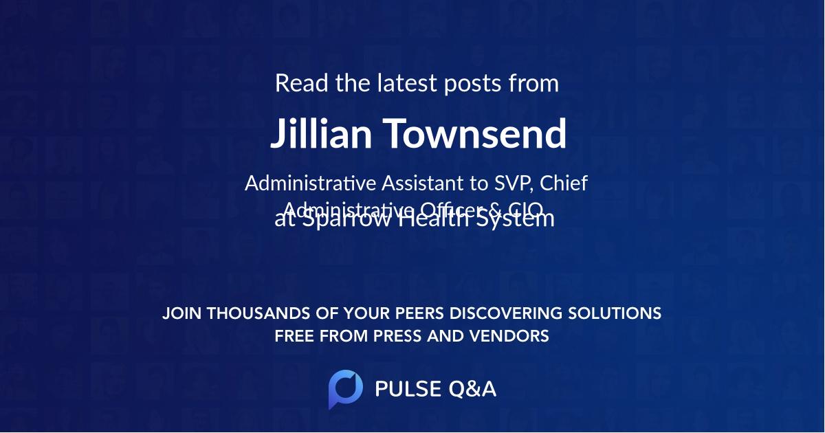 Jillian Townsend