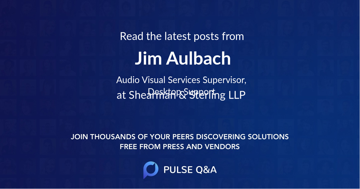 Jim Aulbach