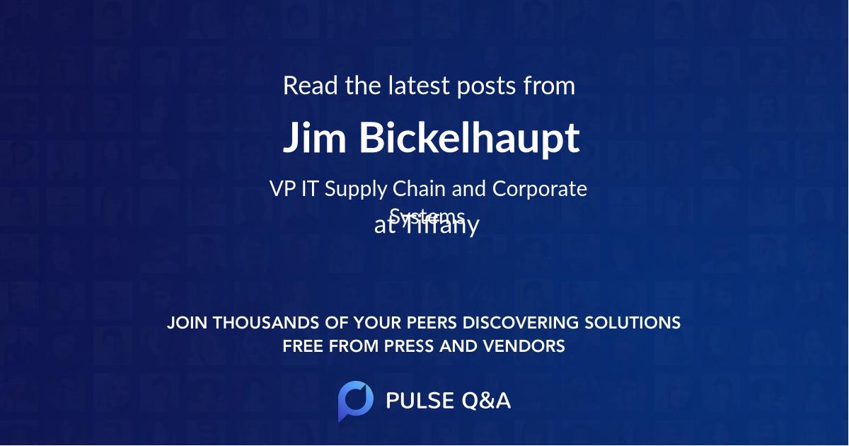 Jim Bickelhaupt