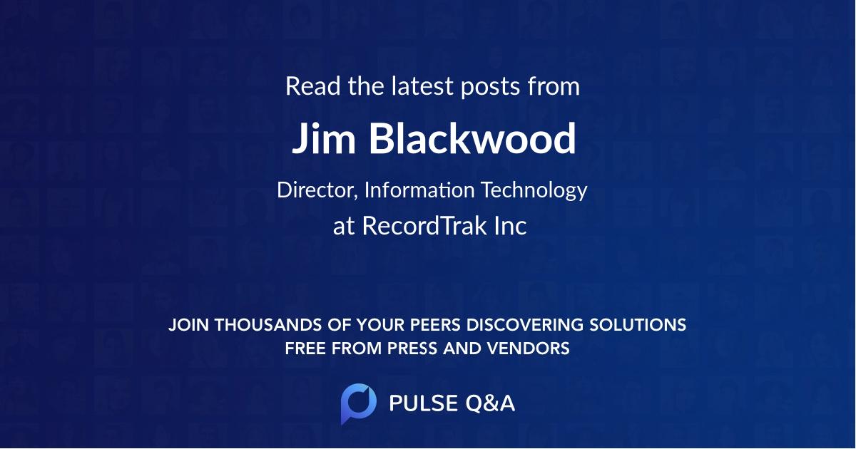 Jim Blackwood