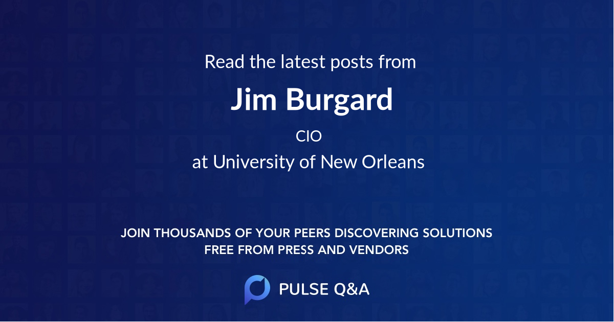 Jim Burgard