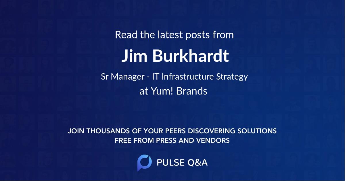 Jim Burkhardt
