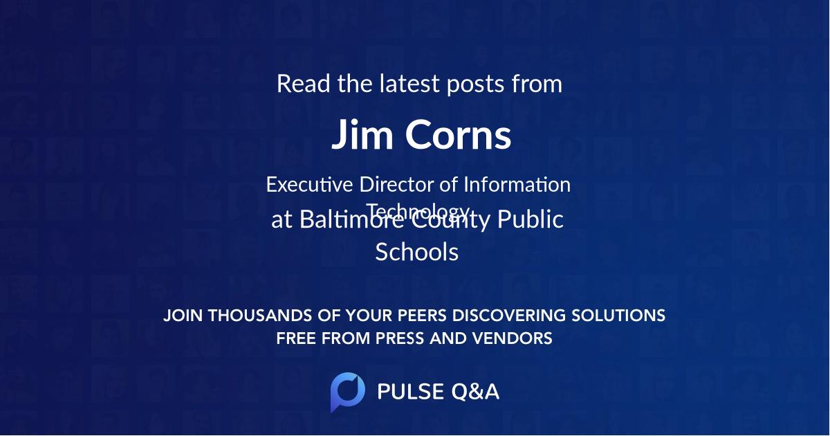 Jim Corns