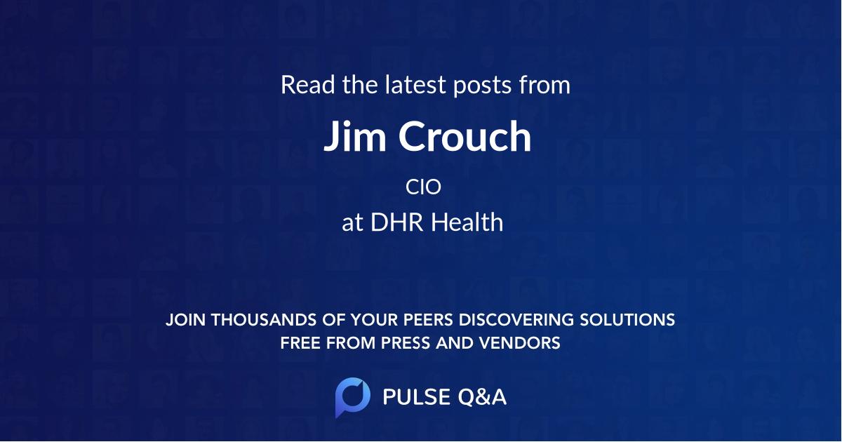 Jim Crouch