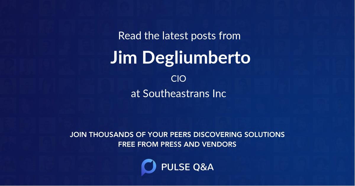Jim Degliumberto
