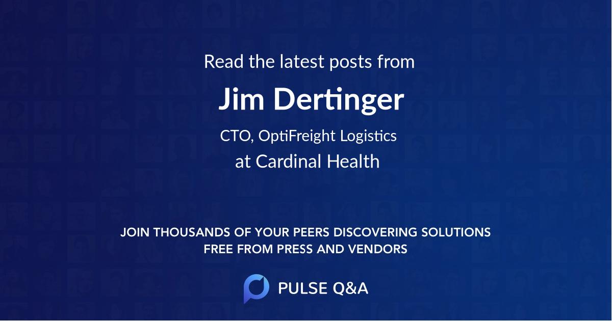 Jim Dertinger