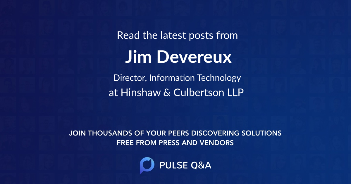 Jim Devereux