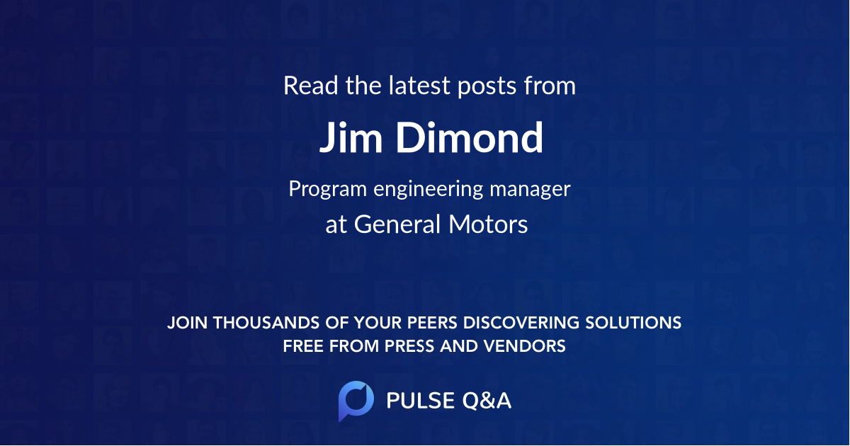 Jim Dimond
