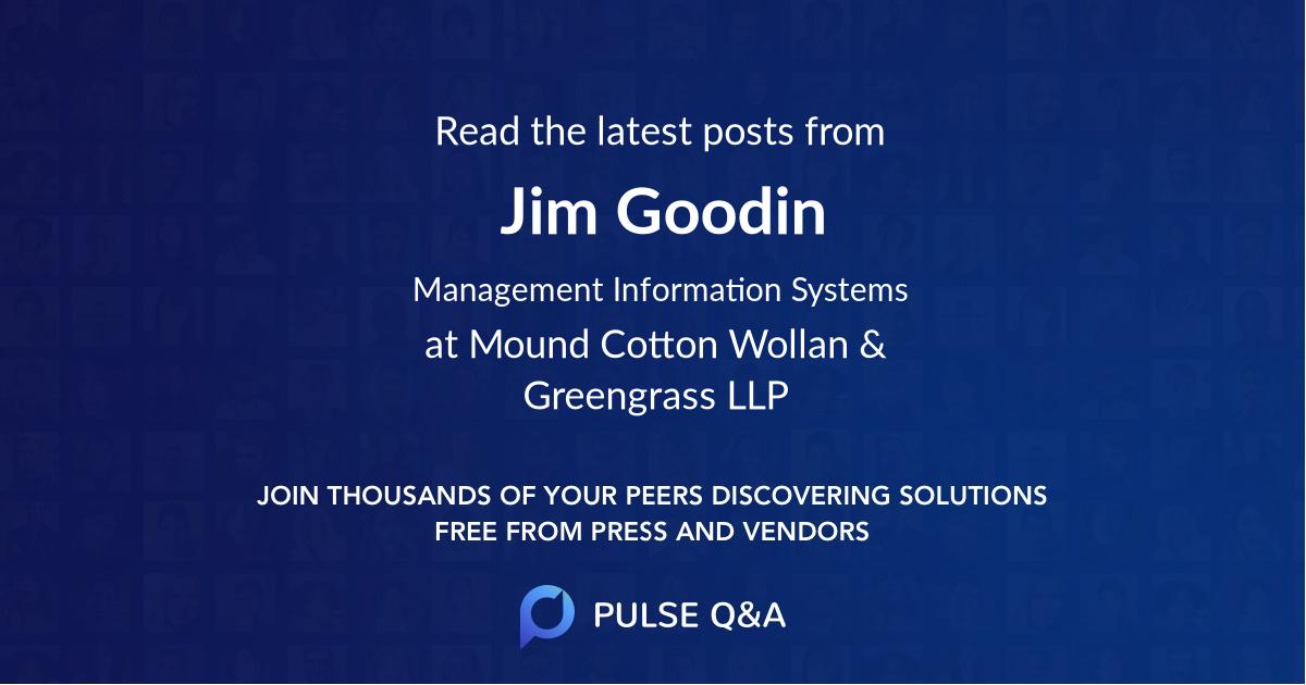 Jim Goodin
