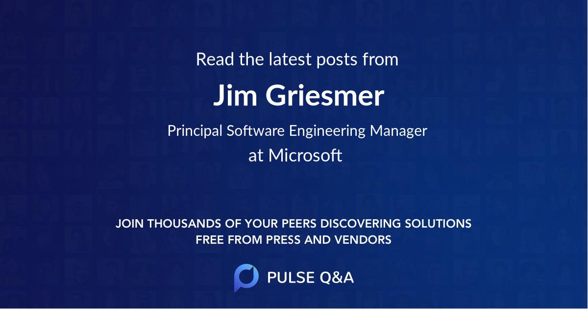 Jim Griesmer
