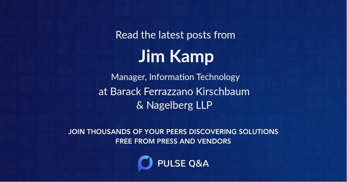Jim Kamp