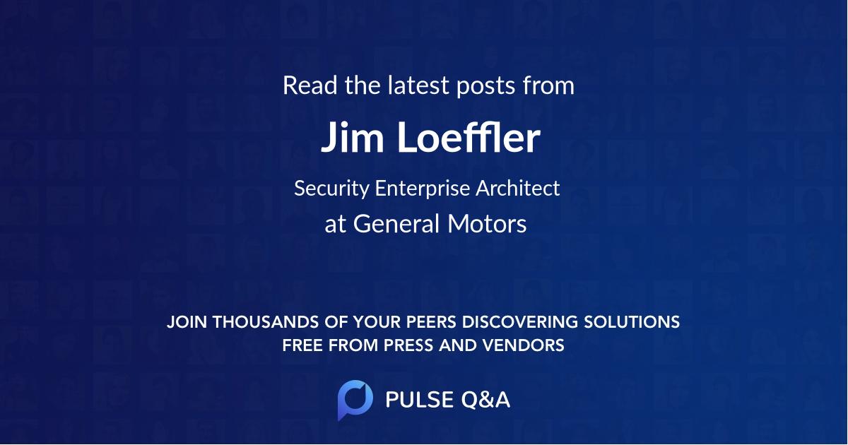 Jim Loeffler