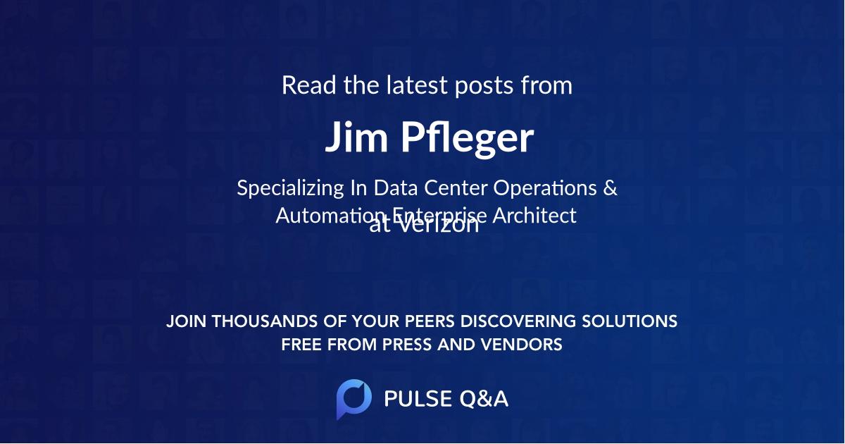 Jim Pfleger