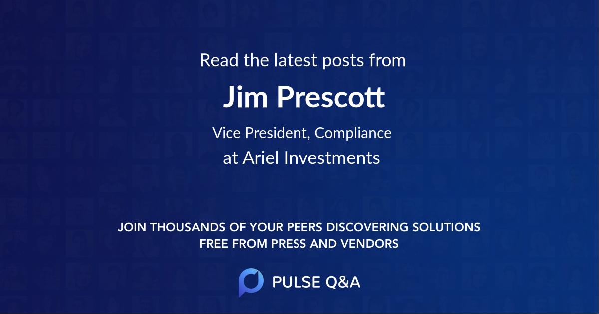 Jim Prescott