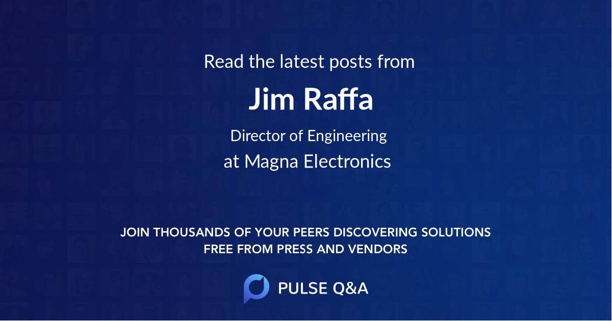Jim Raffa